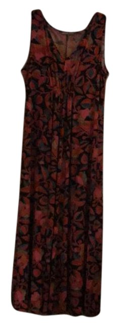 Preload https://img-static.tradesy.com/item/21257074/natori-shades-of-red-blue-brown-and-cream-rn89782-long-workoffice-dress-size-28-plus-3x-0-4-650-650.jpg