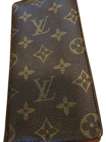 Louis Vuitton Louis Vuitton long wallet checkbook cover