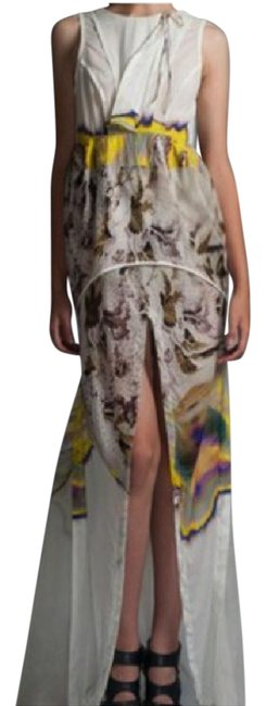 Preload https://img-static.tradesy.com/item/21257196/vera-wang-multi-color-psychedelic-silk-runway-gown-long-cocktail-dress-size-10-m-0-1-650-650.jpg