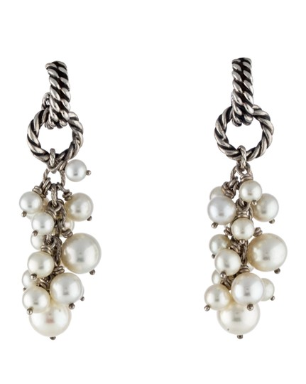 Preload https://img-static.tradesy.com/item/21257231/david-yurman-silverwhite-sterling-pearl-cluster-drop-earrings-0-0-540-540.jpg