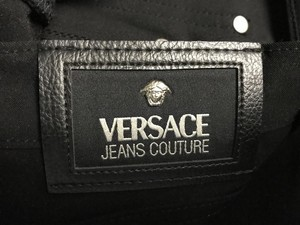 Versace Straight Pants Black