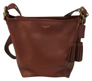 Coach Legacy Duffle Leather Large Legacy Duffle Cross Body Bag