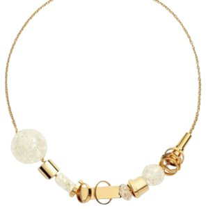 Trina Turk Mixed Shape Frontal Necklace
