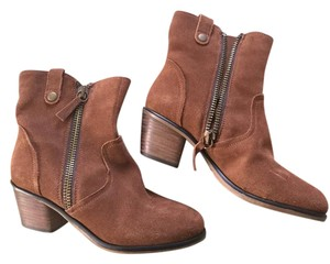 Steve Madden Ankle Rust Boots