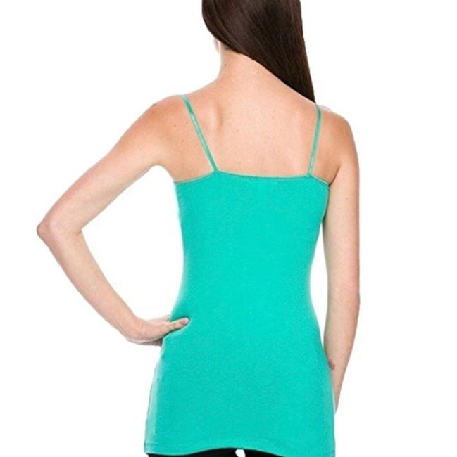 Ambiance Apparel Camisole Cotton Top Jade, Royal Blue, or Red. please confirm size and color prior to purchasing