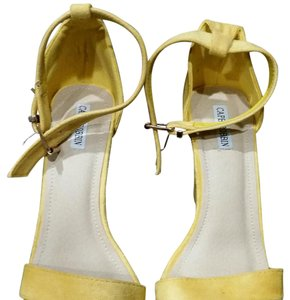 Cape Robbin Yellow Suede Sandals
