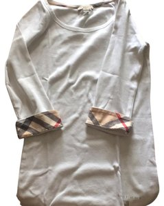 Burberry Brit Top white w/ Burberry logo