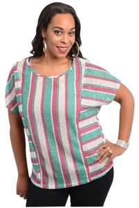 Other Shirt Plus-size Top MultiColor