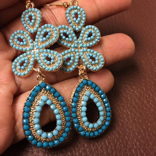 Other Vintage Turquoise Bead Earrings