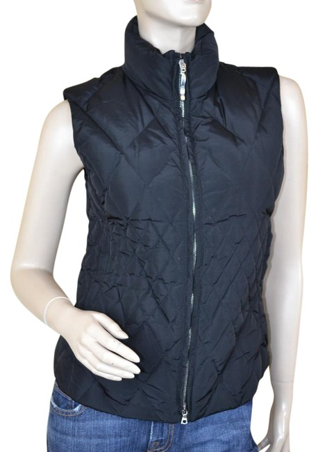 Preload https://item1.tradesy.com/images/post-card-black-quilted-vest-size-4-s-21257640-0-1.jpg?width=400&height=650