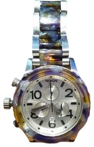 Nixon Nixon 42-20 Chrono Watch Watercolor Acetate Watercolor Acetate,