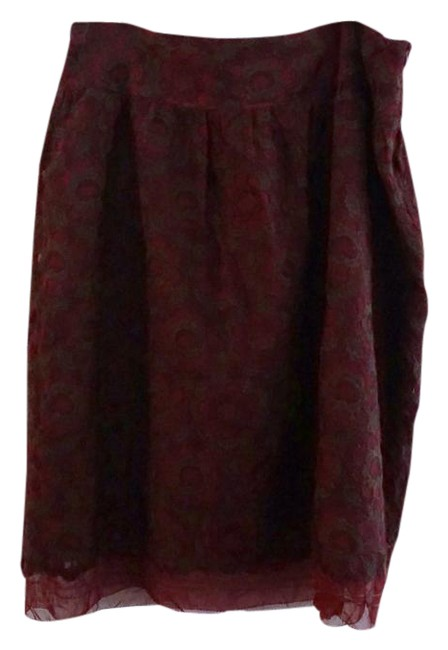 Preload https://img-static.tradesy.com/item/21257677/cynthia-steffe-burgundy-embroidered-skirt-size-10-m-31-0-1-650-650.jpg