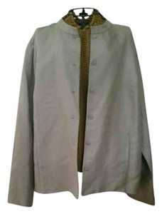 Eileen Fisher Grey metallic Blazer
