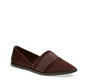 Vince Calf Hair Red Flats