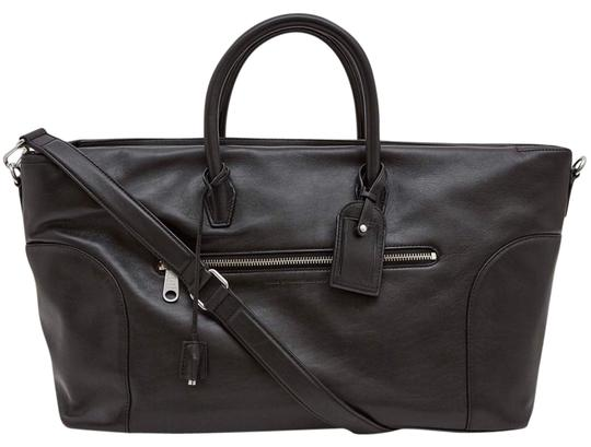 Preload https://img-static.tradesy.com/item/21257773/marc-by-marc-jacobs-men-s-duffle-zipper-unisex-black-leather-weekendtravel-bag-0-1-540-540.jpg