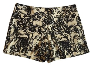 Ann Taylor LOFT Dress Shorts Black & Tan