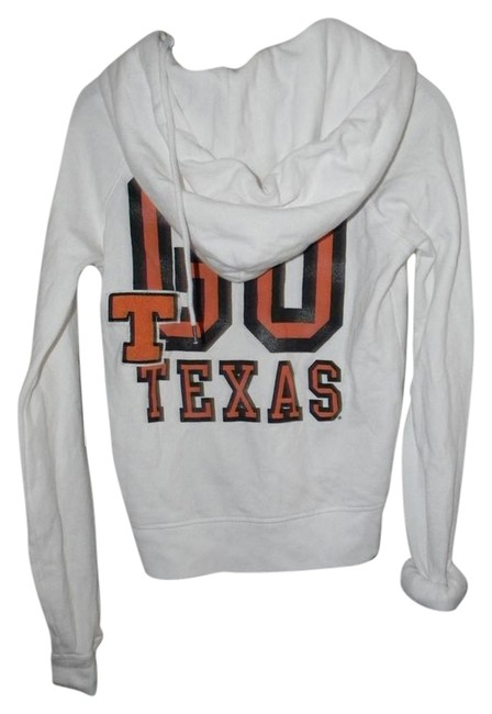 Preload https://item4.tradesy.com/images/victoria-s-secret-white-cotton-blend-go-texas-activewear-hoodie-size-6-s-28-21257883-0-2.jpg?width=400&height=650