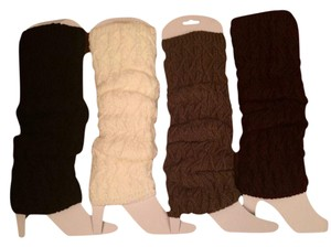 Belle by Sigerson Morrison Belle Women's Crochet Boot Cuffs Toppers Leg Warmers