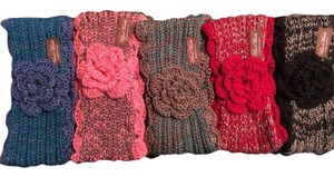 Belle by Sigerson Morrison Belle Women's Winter Crochet Flower Headband Ear Warmers Head Wrap