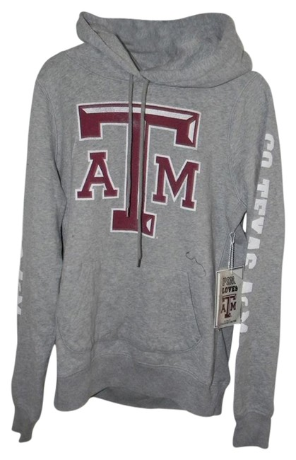 Preload https://img-static.tradesy.com/item/21257920/victoria-s-secret-grey-cotton-blend-go-texas-a-and-m-graphic-decor-activewear-hoodie-size-12-l-32-33-0-1-650-650.jpg