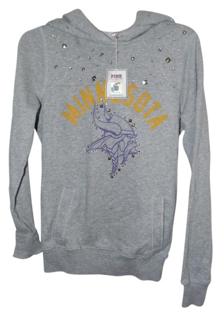 Preload https://img-static.tradesy.com/item/21257938/victoria-s-secret-grey-cotton-blend-minnesota-collegiate-team-graphic-decor-activewear-hoodie-size-2-0-1-650-650.jpg