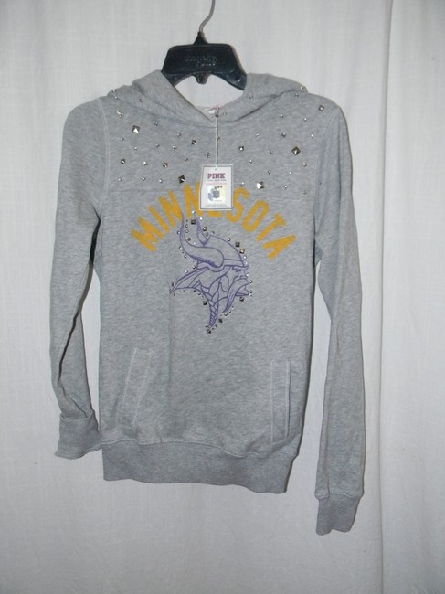 Victoria's Secret Cotton Blend MINNESOTA Collegiate Team Graphic Decor Hoodie