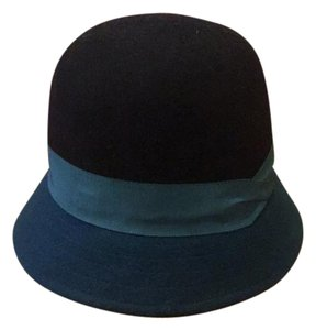 Lucky Brand Color Block Wool Cloche Hat