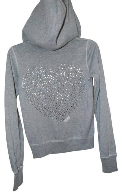 Preload https://img-static.tradesy.com/item/21257965/victoria-s-secret-grey-cotton-blend-prhinestone-heart-graphic-decor-activewear-hoodie-size-2-xs-26-0-2-650-650.jpg