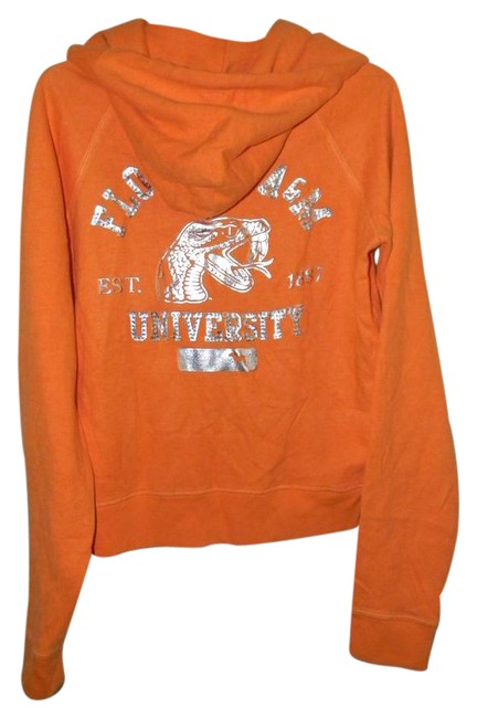 Preload https://item3.tradesy.com/images/victoria-s-secret-orange-cotton-blend-rhinestones-florida-a-and-m-activewear-hoodie-size-12-l-32-33-21258112-0-1.jpg?width=400&height=650
