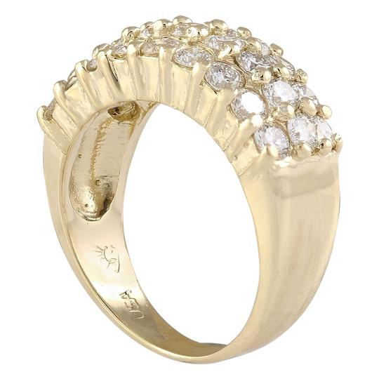 Fashion Strada 2.00 Carat Natural Diamond 14K Yellow Gold Ring
