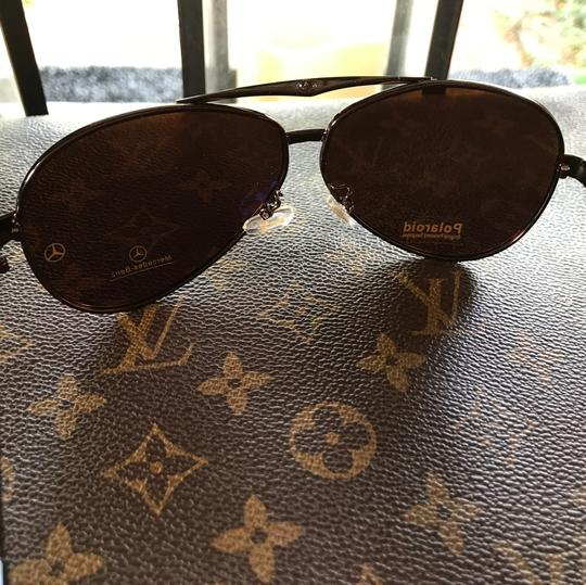 Other Round Big Frame Fox Metal Temple Glasses