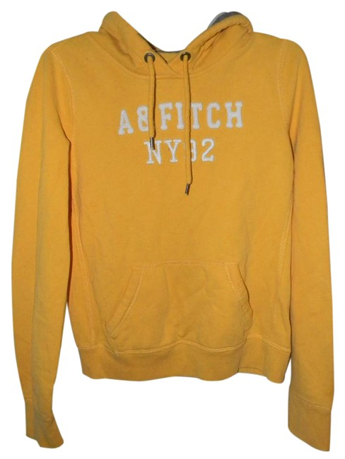 Preload https://img-static.tradesy.com/item/21258326/abercrombie-and-fitch-yellow-cotton-blend-rainbow-rhinestones-peace-sign-activewear-hoodie-size-10-m-0-1-650-650.jpg