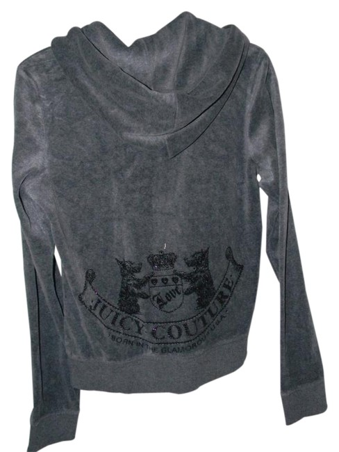 Preload https://item5.tradesy.com/images/juicy-couture-grey-velour-activewear-hoodie-size-12-l-32-33-21258419-0-1.jpg?width=400&height=650