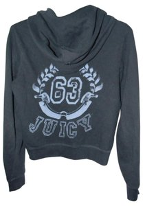 Juicy Couture Cotton Blend Grey Hoodie