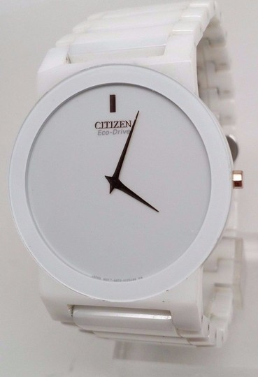 Preload https://item4.tradesy.com/images/citizen-eco-drive-stiletto-unisex-white-ceramic-bracelet-dress-ar3050-52-watch-21258568-0-0.jpg?width=440&height=440