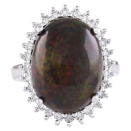 Preload https://item5.tradesy.com/images/black-866-carat-natural-opal-14k-white-gold-diamond-ring-21258589-0-0.jpg?width=440&height=440