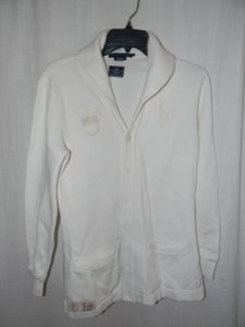 RLX Ralph Lauren 2012 Olynpics Collared Button Down Cardigan