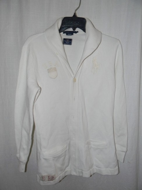 Preload https://item1.tradesy.com/images/rlx-ralph-lauren-off-white-2012-olynpics-collared-button-down-cardigan-activewear-jacket-size-6-s-28-21258650-0-0.jpg?width=400&height=650