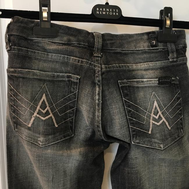 Seven7 Boot Cut Jeans-Distressed Image 3