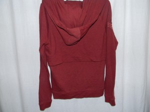 Hurley Layered Back Zipperd Front Oversized Hoodie