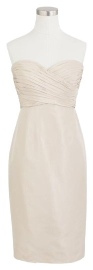 Preload https://item4.tradesy.com/images/jcrew-champagne-kristin-bridesmaidmob-dress-size-4-s-21258703-0-2.jpg?width=440&height=440