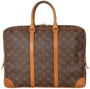 Louis Vuitton Monogram Briefcase Attache Laptop Business Laptop Bag