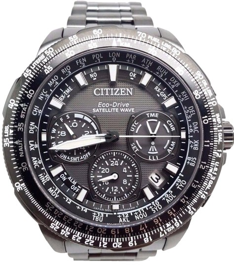 Citizen Eco-Drive Mens CC9025-85E PROMASTER NAVIHAWK SATELLITE WAVE World Time