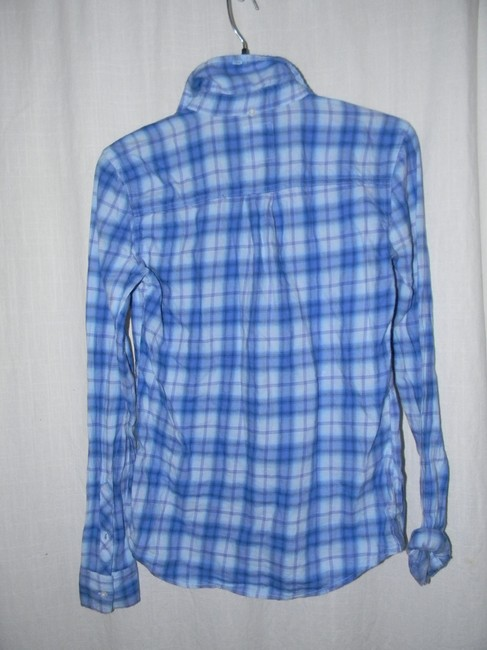 Victoria's Secret Button Down Shirt Blue