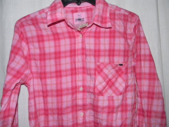 Victoria's Secret Button Down Shirt Pink