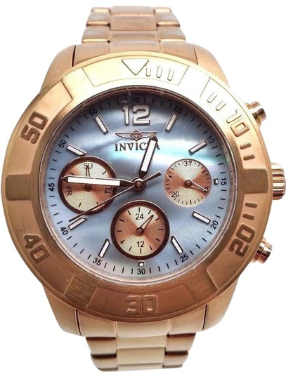 Preload https://item5.tradesy.com/images/invicta-womens-21611-rose-gold-tone-stainless-steel-bracelet-watch-21258904-0-1.jpg?width=440&height=440
