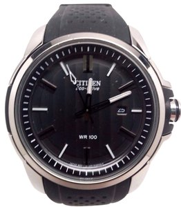 Citizen AR Eco-Drive Black Dial Mens Watch AW1150-07E