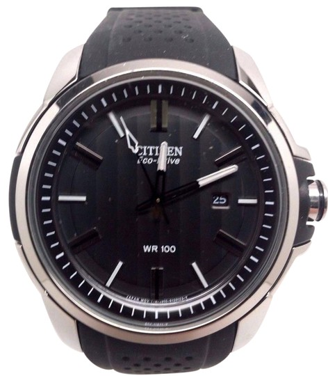 Preload https://item4.tradesy.com/images/citizen-ar-eco-drive-black-dial-mens-aw1150-07e-watch-21258933-0-1.jpg?width=440&height=440