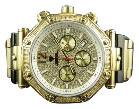 Other Mens Aqua Master Yellow Stainless Steel 45MM Diamond Watch 0.24Ct