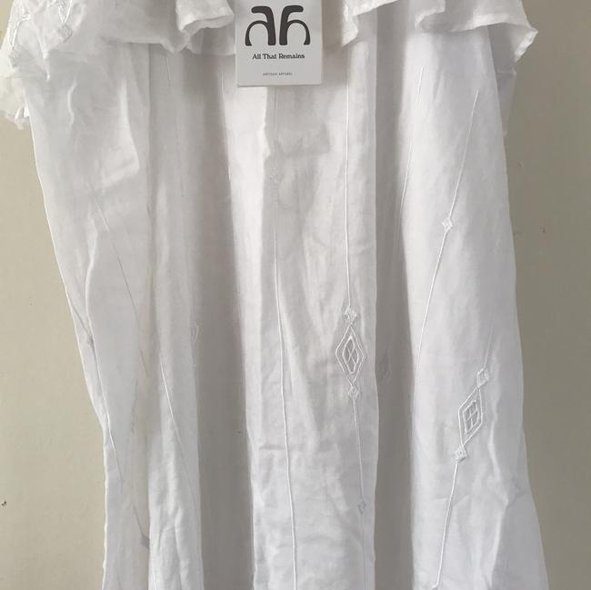 white Maxi Dress by All That Remains